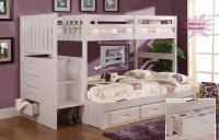 staircase bed, bunk bed, storage bunk, stairstepper