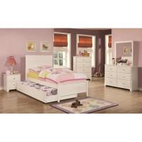 platform bed; trundle bed, kids bedroom set, youth bedroom