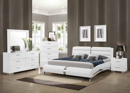 platform bed, padded bed, leather bed, modern bed, unique bed