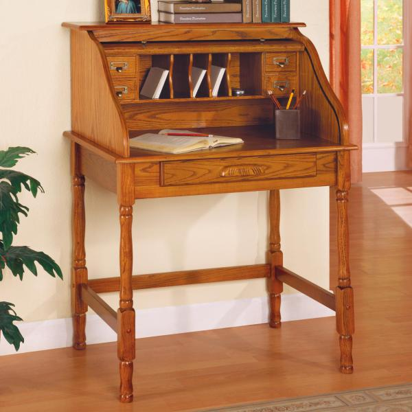 Palmetto Roll Top Secretary Desk