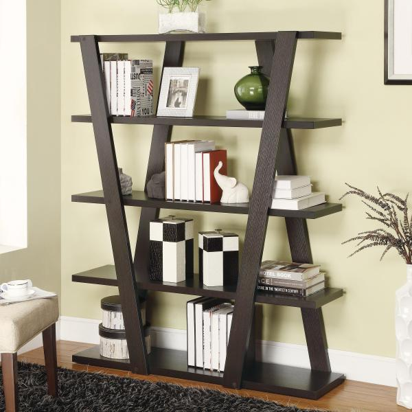 Modern Inverted Bookshelf