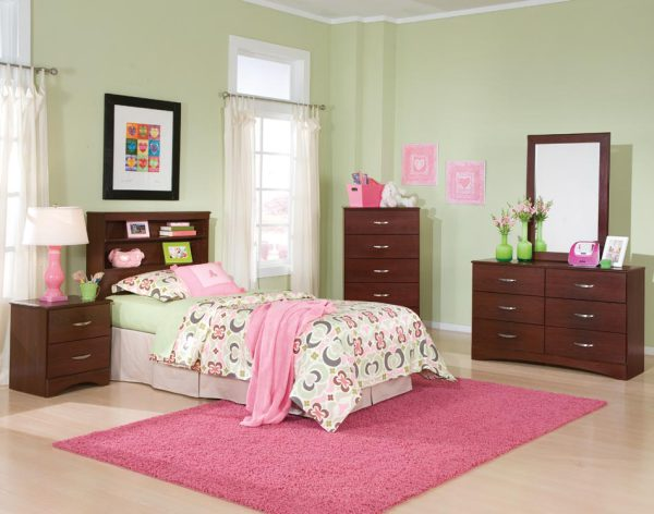 Briar Bookcase Bedroom Collection