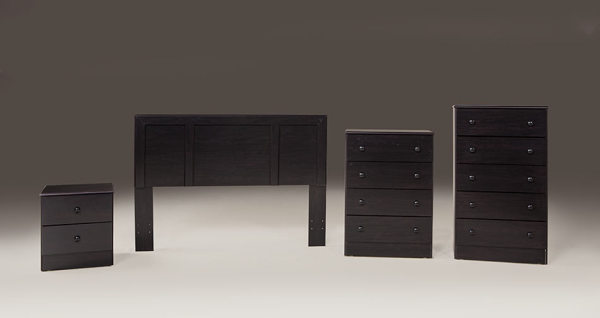 Promo Headboard, Nightstand, & Chests