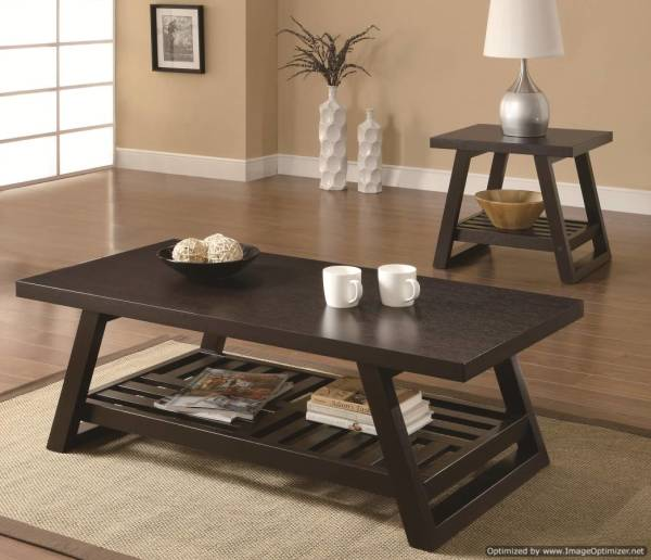 coffee table, end table, occasional set
