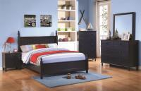 cottage style, blue bedroom set, youth furniture, wood bedroom furniture