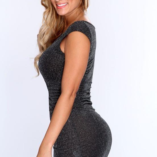 Vestido para dama gris talla M Vendido por Namaste Fashion $39 000