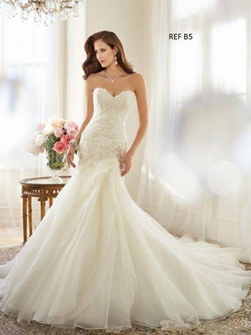 Diferentes estilos de vestidos de novia disponibles