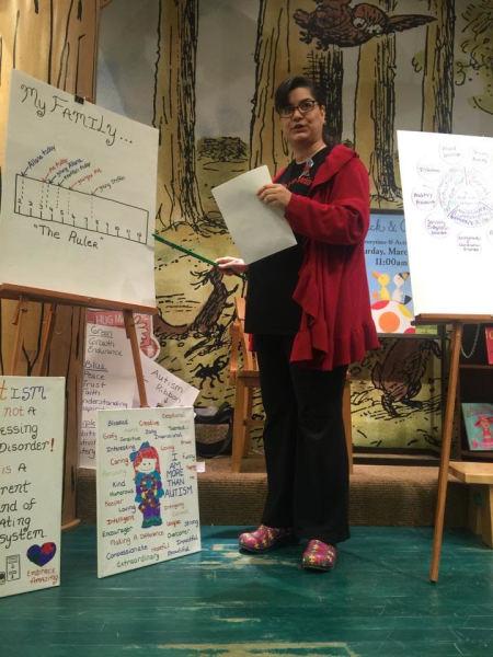 MY AUTISM SPEECH-BARNES & NOBLE