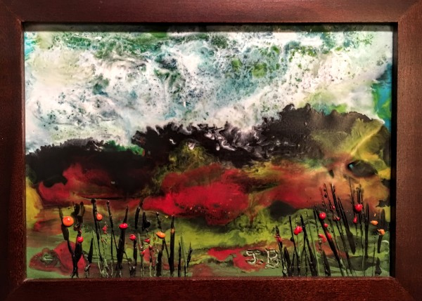 Encaustic oil painting