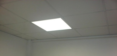 LED Ceiling Panels Now Supplied & Fitted for under £45.00