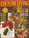 Country Living Dec 2007