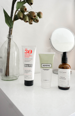 My Natural (and easy!) Skincare Routine