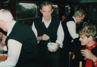 BMT Dining Car 29th September 1990