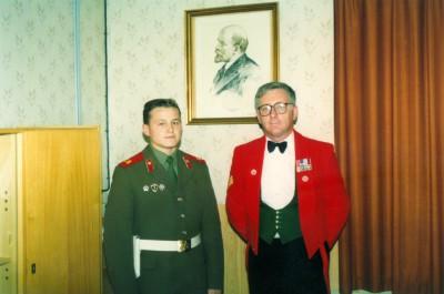 Marienborn - Soviet Office 29 September 1990
