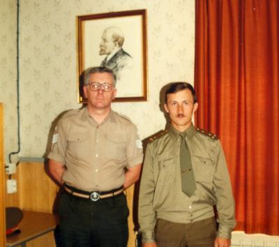 Marienborn - Soviet Office 1990