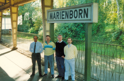 Marienborn Station, 30th September 1990