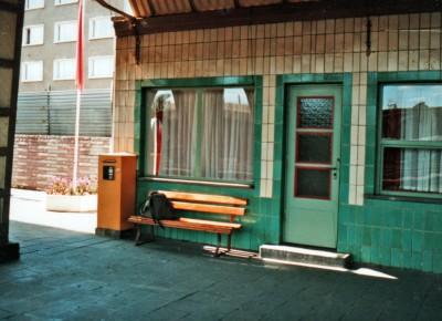 Marienborn Station Platform, 1990