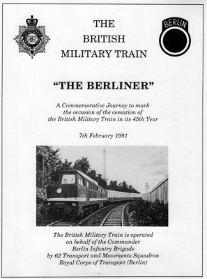 The Last Berliner - 7th February 1991