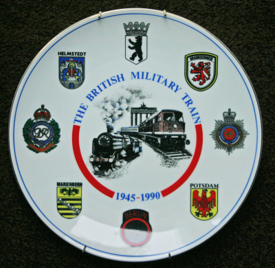 BMT Commemorative Plate