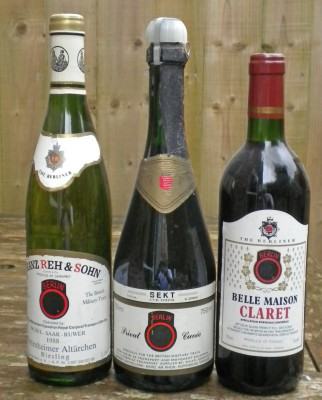 British Military Train Wines 1980s