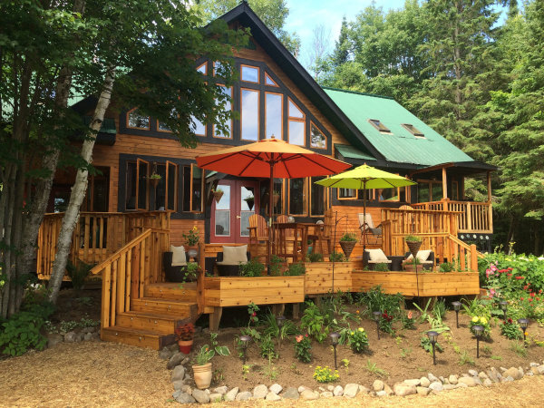 Cottage getaway, northern retreat, health, gentle yoga