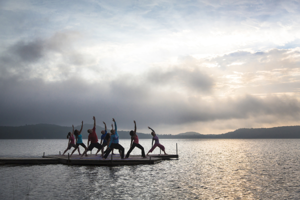 Yoga, Sunrise Yoga, meditation, yoga retreat, muskoka yoga retreat
