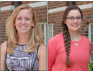 CMAH Lab welcomes two Doctoral Students, Katie Andrews and Carissa Wengrovius