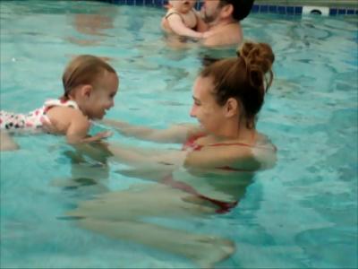 parent and me swim lesson