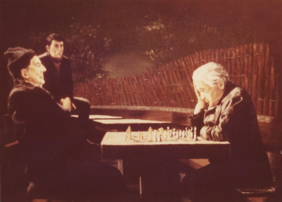 chess, New York, board, players