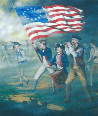 1776, revolution, America, Patriots, painting