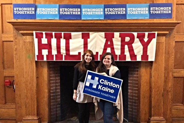 Pennsylvania Fellow and Staging Location Director, Gabby Giotto, and I