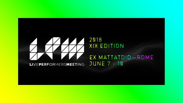 Live Performers Meeting Rome 2018
