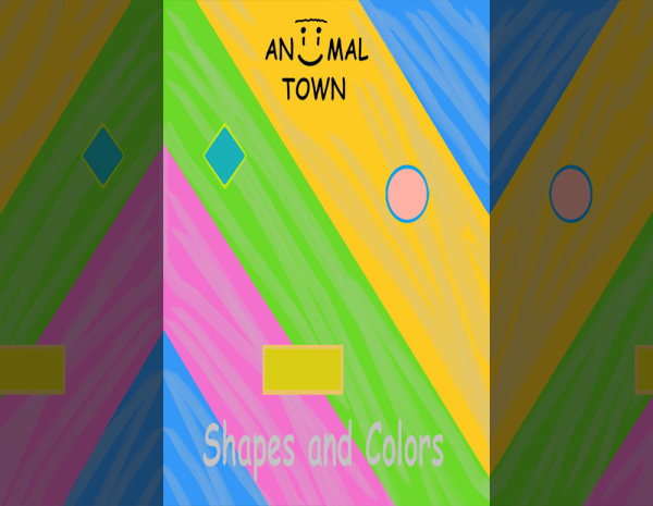 Aniimal Town, Shapes and Colors
