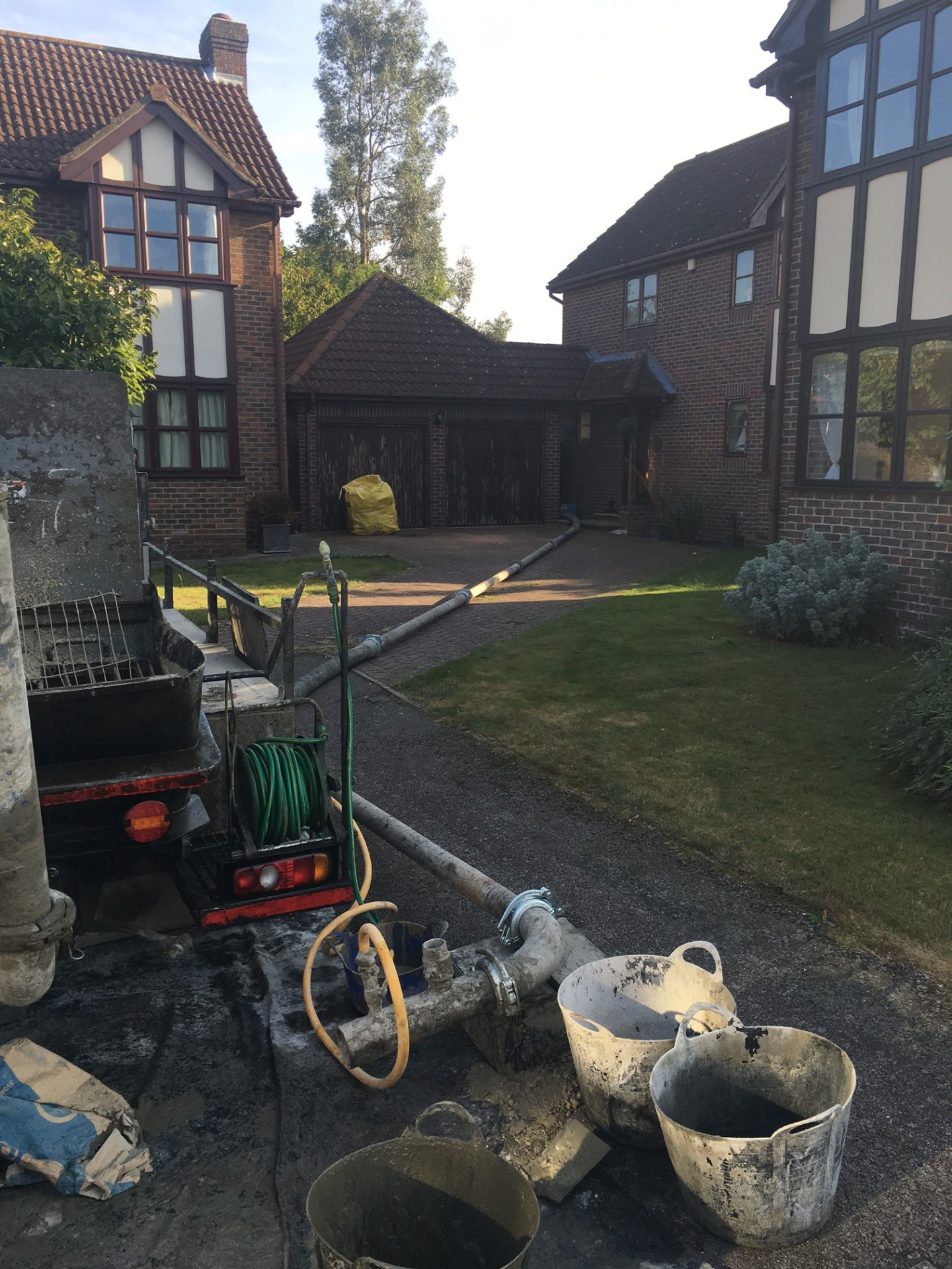 small concrete pump amersham