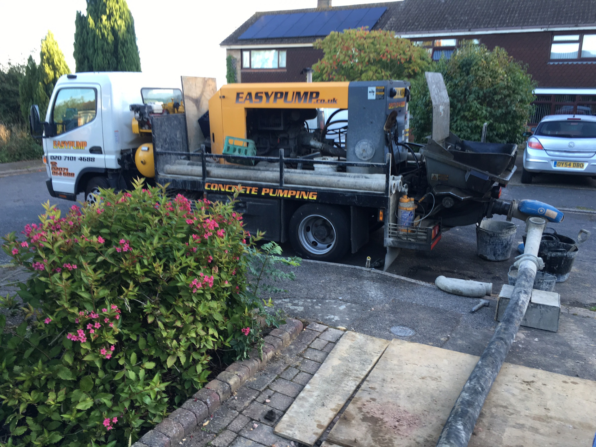 concrete pump luton
