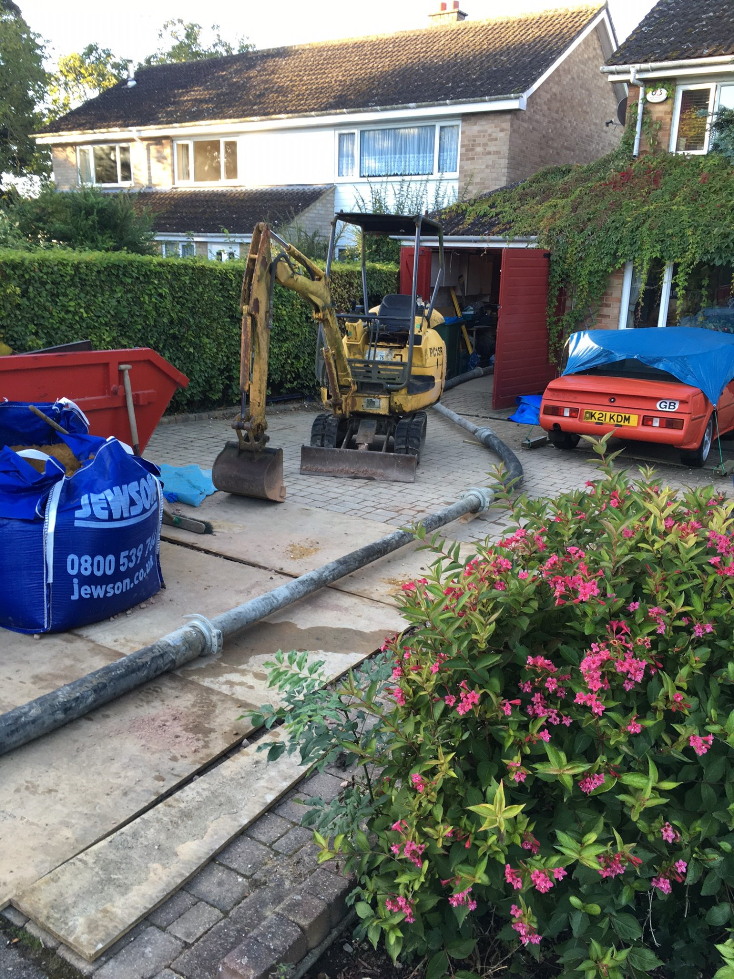concrete pump amersham