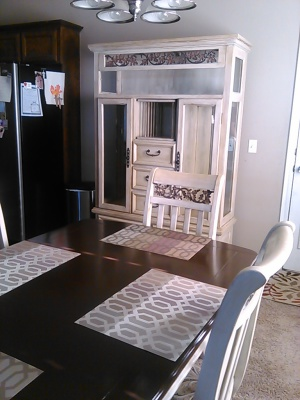 Clients Dining set Makeover