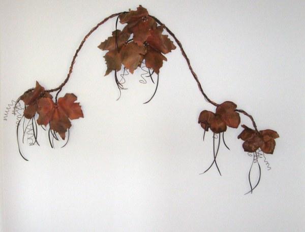 Copper, Leather, vine, art, Newby, ANZLA, NZ, New Zealand