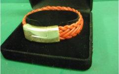 Leather bracelet ANZLA