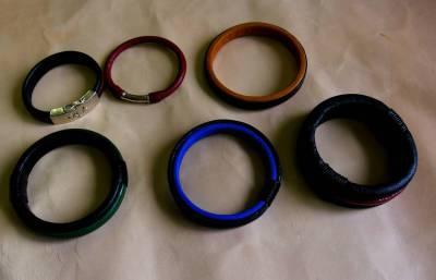 Leather, bracelet, Tim Swainson, anzla, NZ, New zealand, art