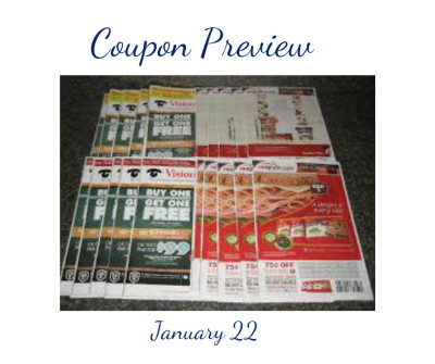Coupon Preview January 01/22, 1 RedPlum 1 SmartSource
