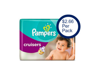 Score Pampers Diapers for $2.66 per Jumbo Pack