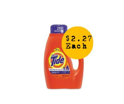 Score Tide Liquid for $2.27 Each
