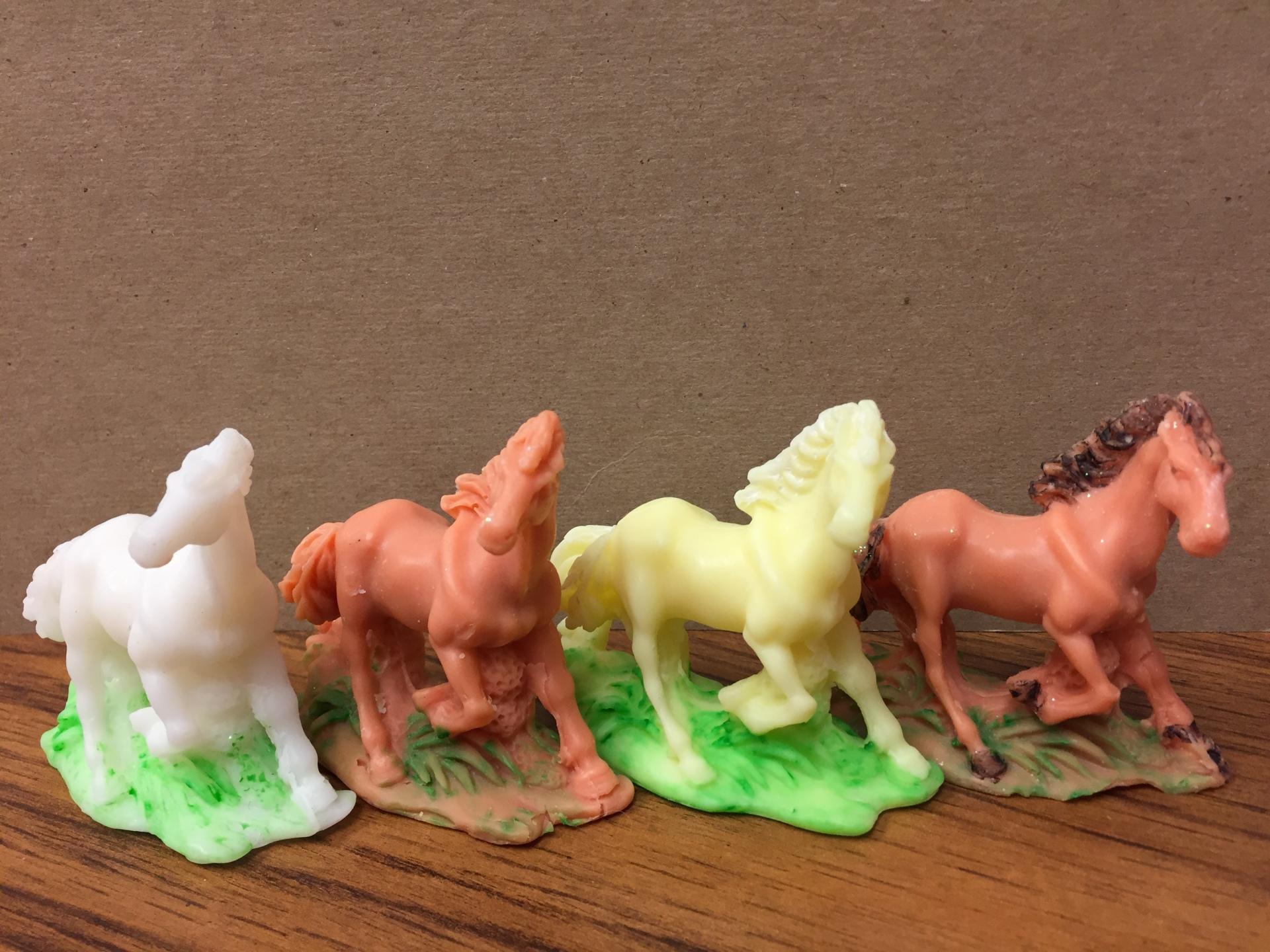 Galloping away!