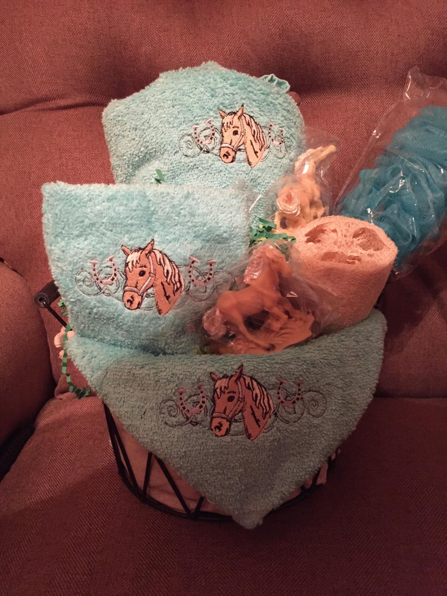 custom baskets/corporate give aways