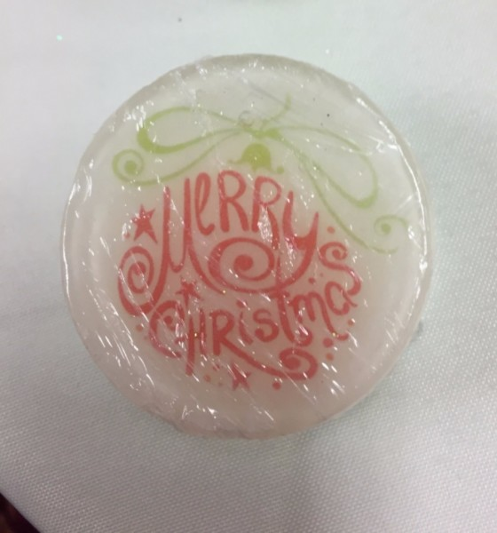 Lovely Christmas soap