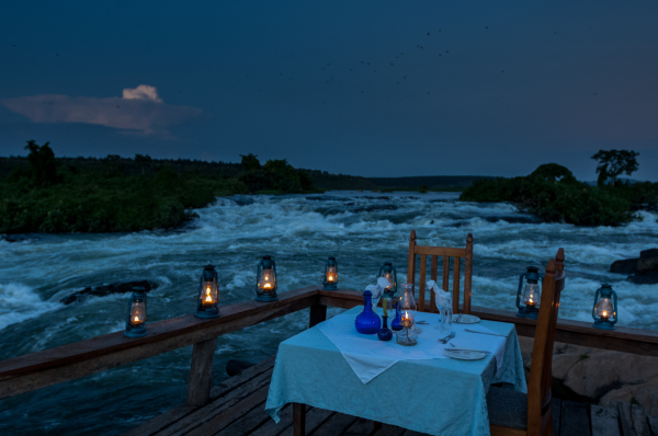 Dinner on the River Nile