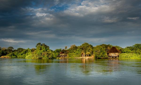Wild Waters Lodge. Uganda.