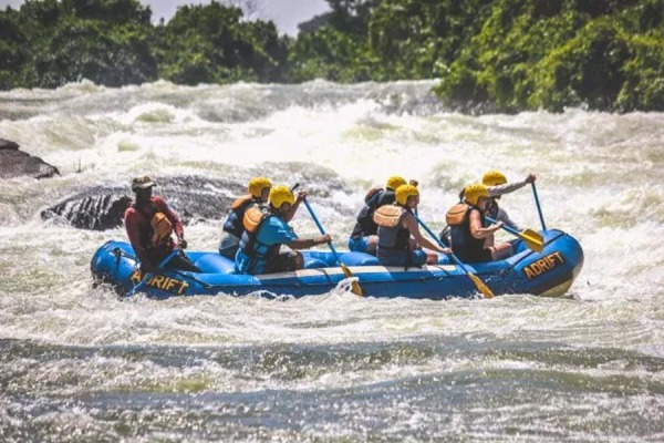 We traveled to this part of Uganda specifically for a chance to try whitewater rafting on the Nile