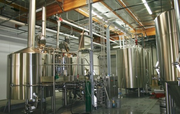 Brewery Piping & Tanks
